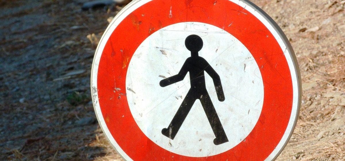 Семь пешеходов погибли на дорогах Барановичского региона в 2017 году