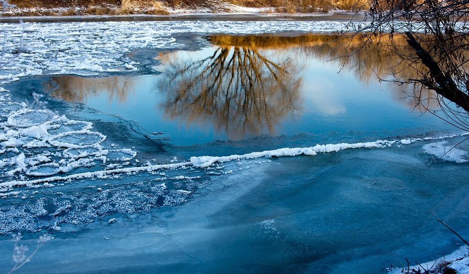 В Пинском районе 15-летний школьник провалился под лед и утонул