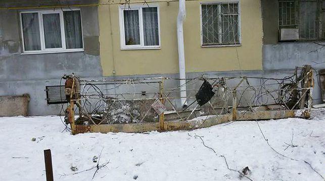 В Минске подъемник с рабочим упал с высоты четвертого этажа