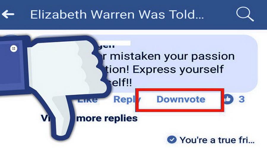 В Facebook тестируют кнопку «Дизлайк» под комментариями