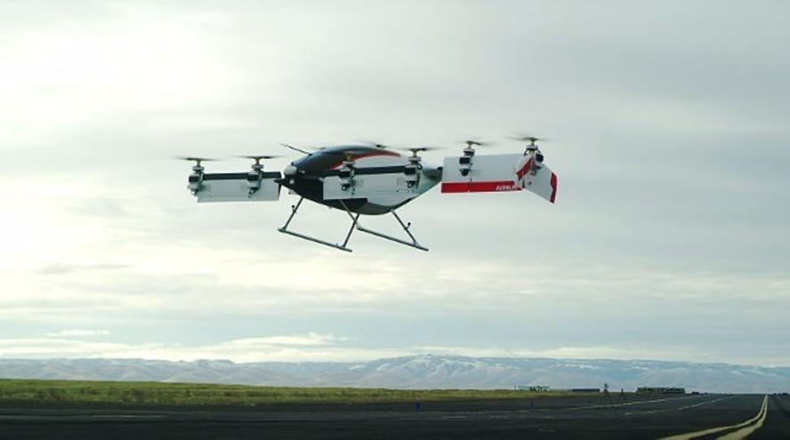 В сети опубликовали первый видеоролик полета беспилотного такси Vahana от компании Airbus