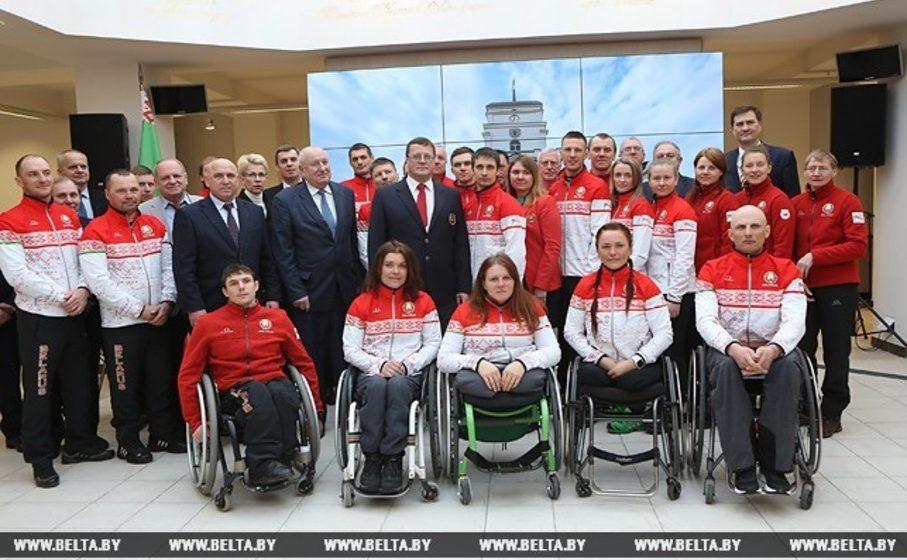 На XII зимней Паралимпиаде в Пхенчхане Беларусь представят 15 спортсменов
