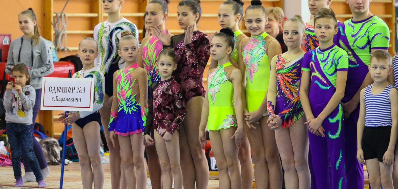 Юные акробаты СДЮШОР №3 выиграли командное первенство Брестской области