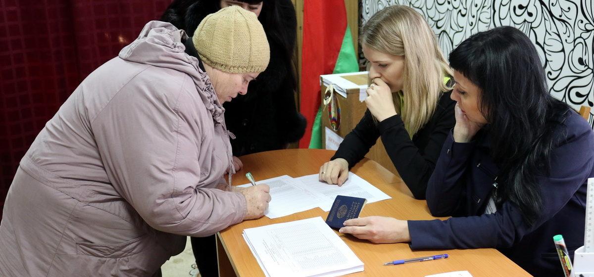 Как в Барановичах прошел первый день досрочного голосования на выборах в местные Советы