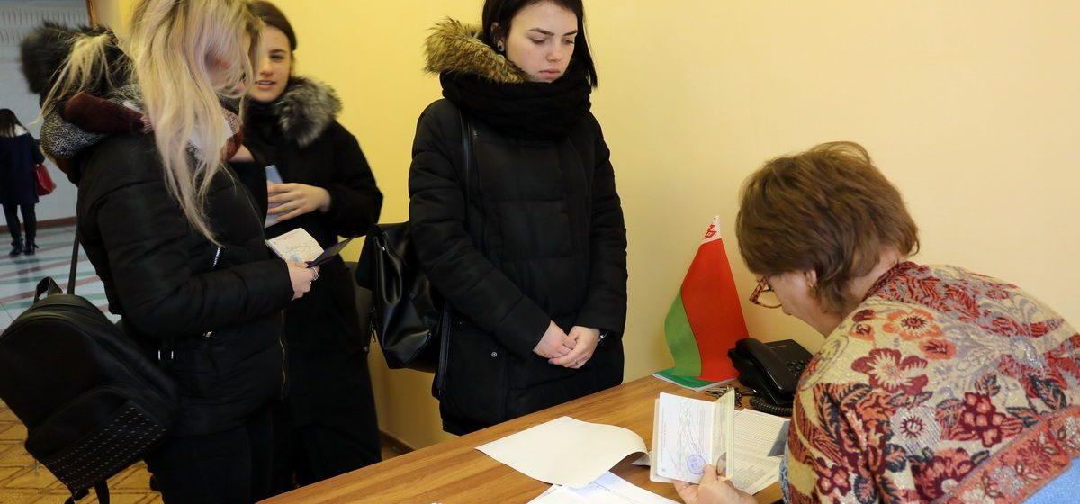 Сколько человек проголосовало в Барановичах в первый день досрочного голосования