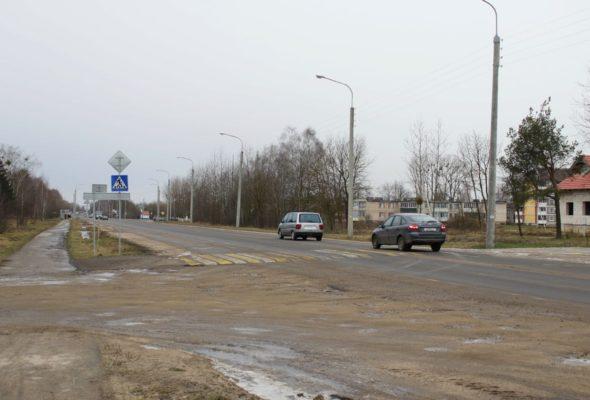 Жителям Барановичей объяснили, для чего установлен «спящий полицейский» на улице Вильчковского