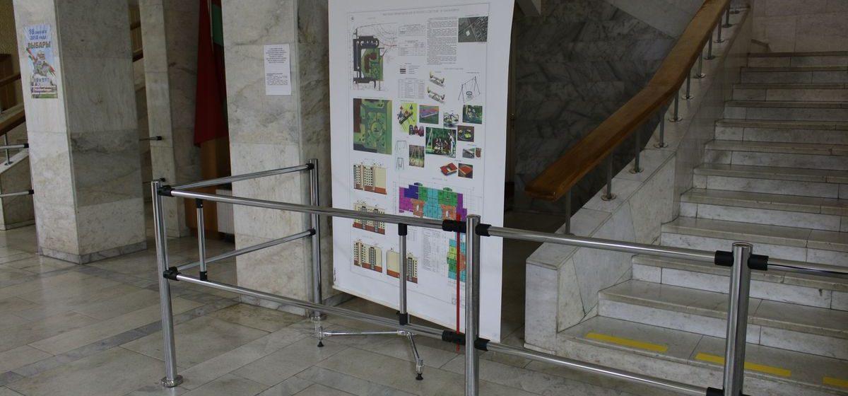 В Барановичах началось общественное обсуждение строительства девятиэтажки в Северном микрорайоне