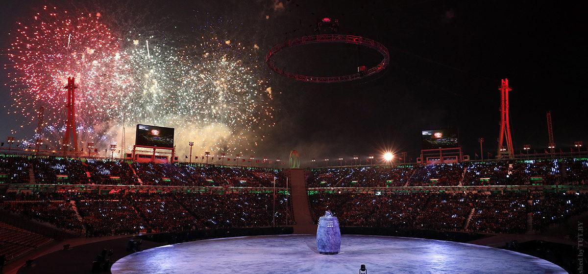 В Пхенчхане прошла церемония открытия зимних Олимпийских игр (фото/видео)