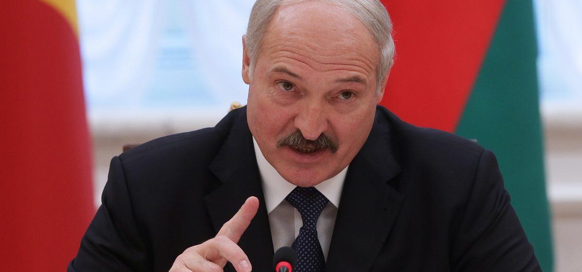 Лукашенко – чиновникам: «От меня пощады не ждите, никто»