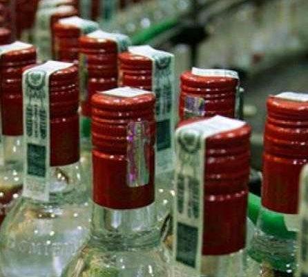 Возбуждено уголовное дело о пропаже с Гомельского ликеро-водочного завода 47000 бутылок водки
