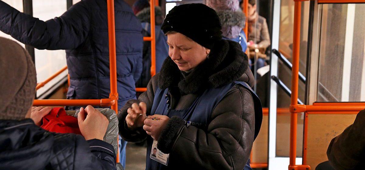 В барановичских автобусах в 2017 году оштрафовали более 10 тысяч безбилетников