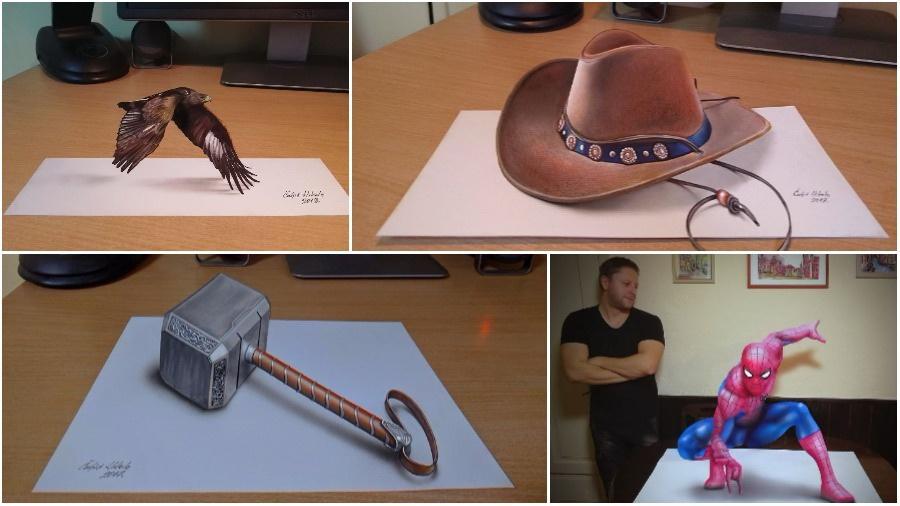 Подборка 3D-рисунков, от которых захватывает дух