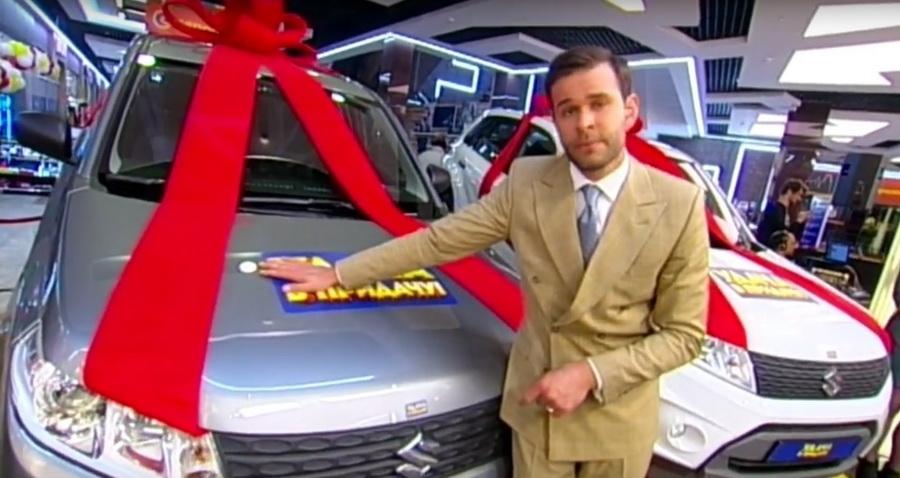 Житель Барановичей выиграл автомобиль в рекламной игре «Евроопта»