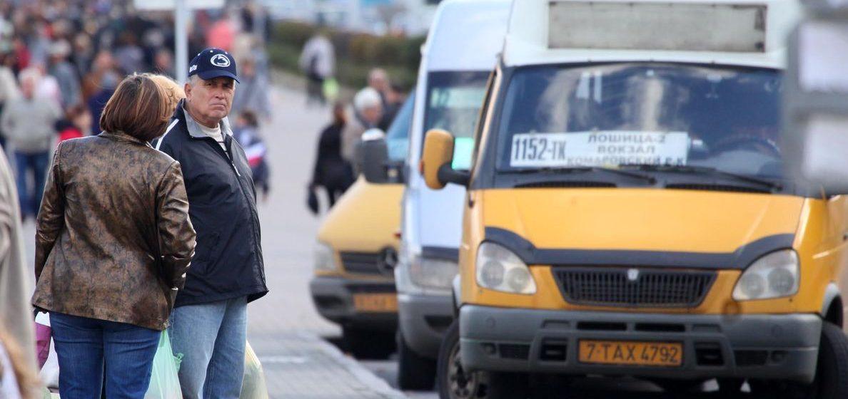 Минтранс: водители частных маршруток без работы не останутся