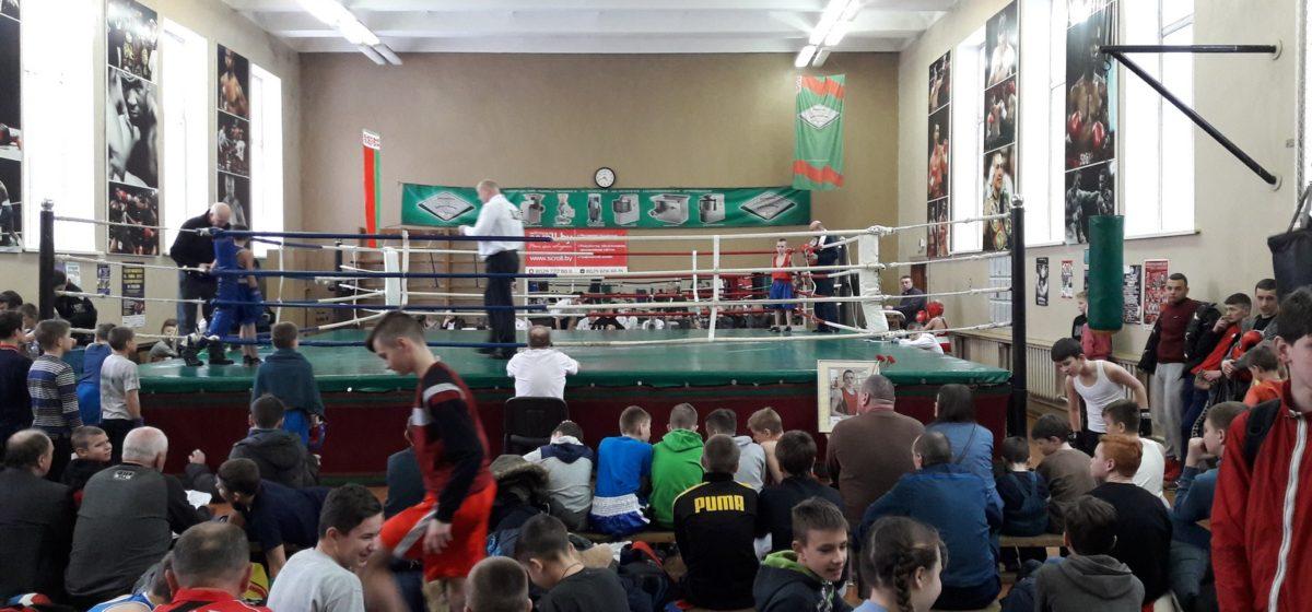 В Барановичах прошел турнир по боксу памяти мастера спорта Антона Берната