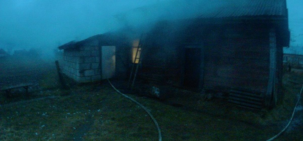 В Барановичском регионе горели два жилых дома