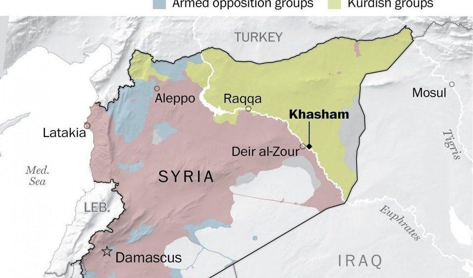 Источники: В Сирии в бою с американцами погибли десятки бойцов российской частной военной компании
