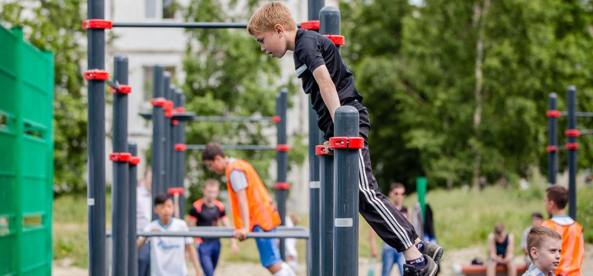 В Барановичах за 52 тысячи евро построят спортивно-игровую площадку