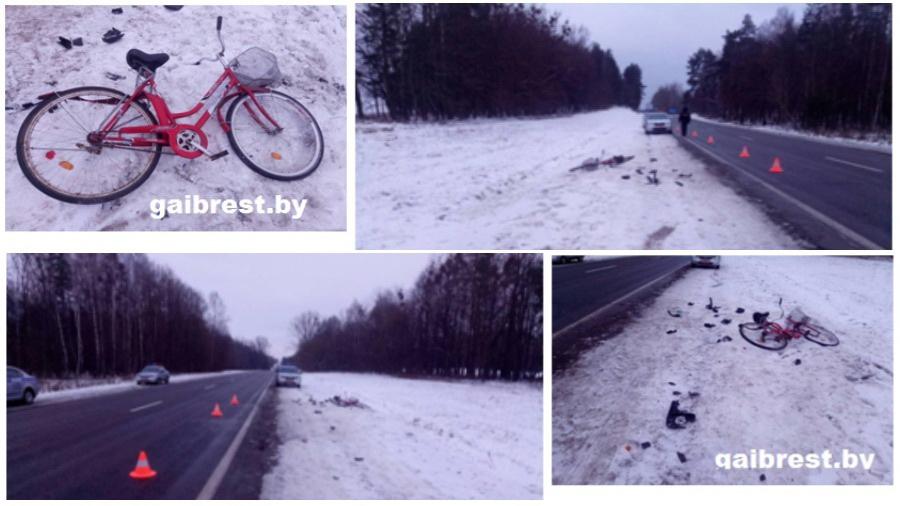 В Барановичском районе водитель сбил велосипедистку и скрылся с места ДТП