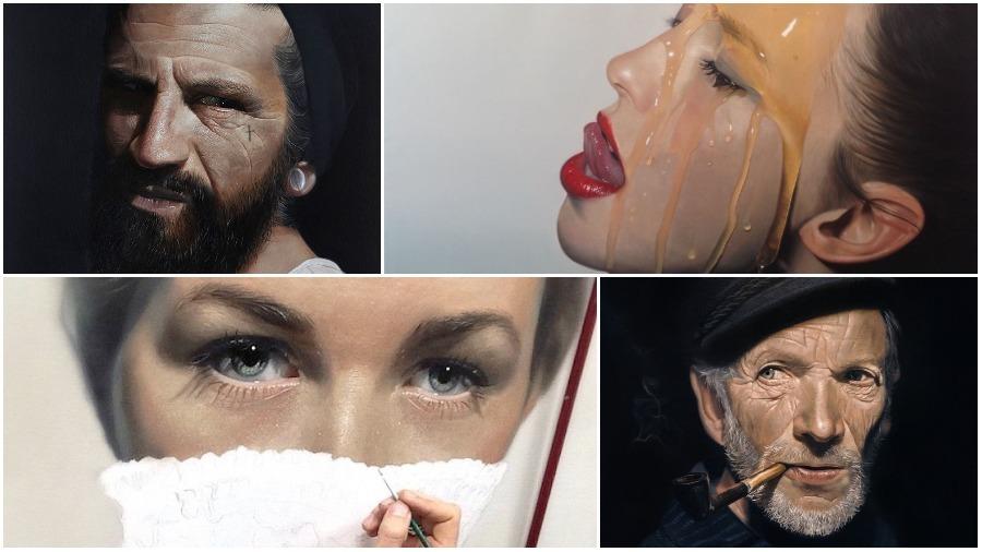 Подборка гиперреалистичных картин, выполненных маслом