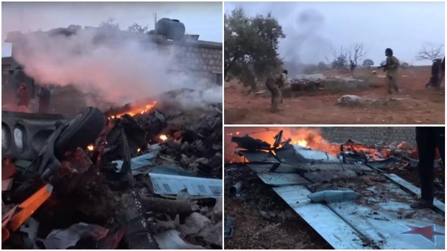Сколько самолетов и вертолетов за время операции в Сирии потеряла авиационная группа ВВС России