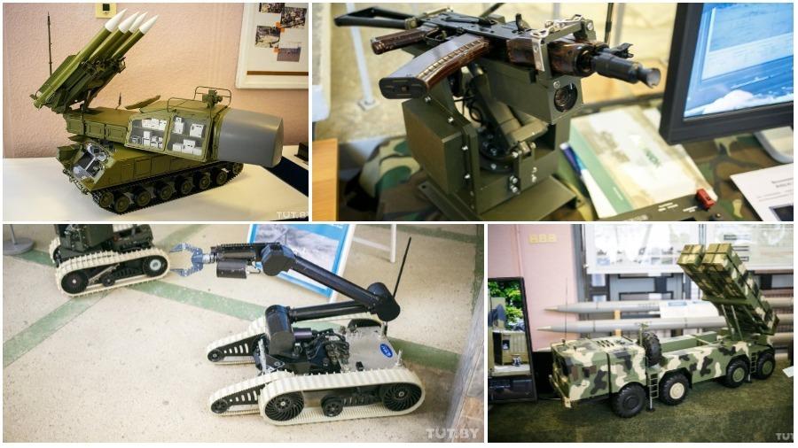 Новое белорусское оружие показали в Минске