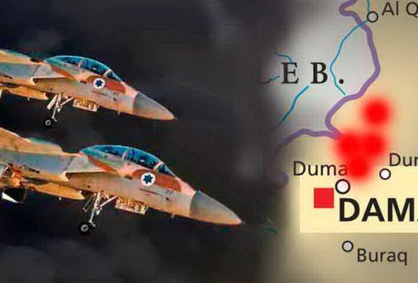 Сирийские системы ПВО сбили израильский F-16, в ответ Израиль нанес удар по системам воздушной обороны Сирии и иранским целям