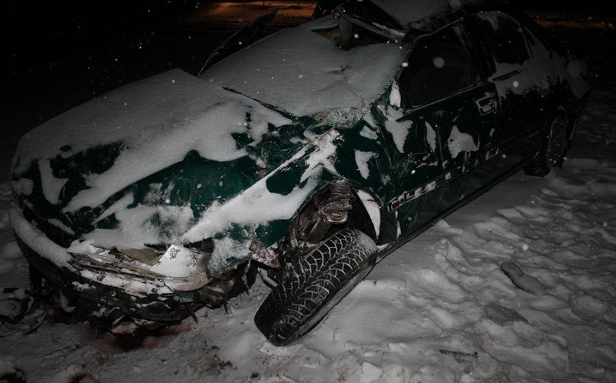 В Кореличском районе «Пежо» вылетел в кювет и перевернулся – водитель погиб на месте