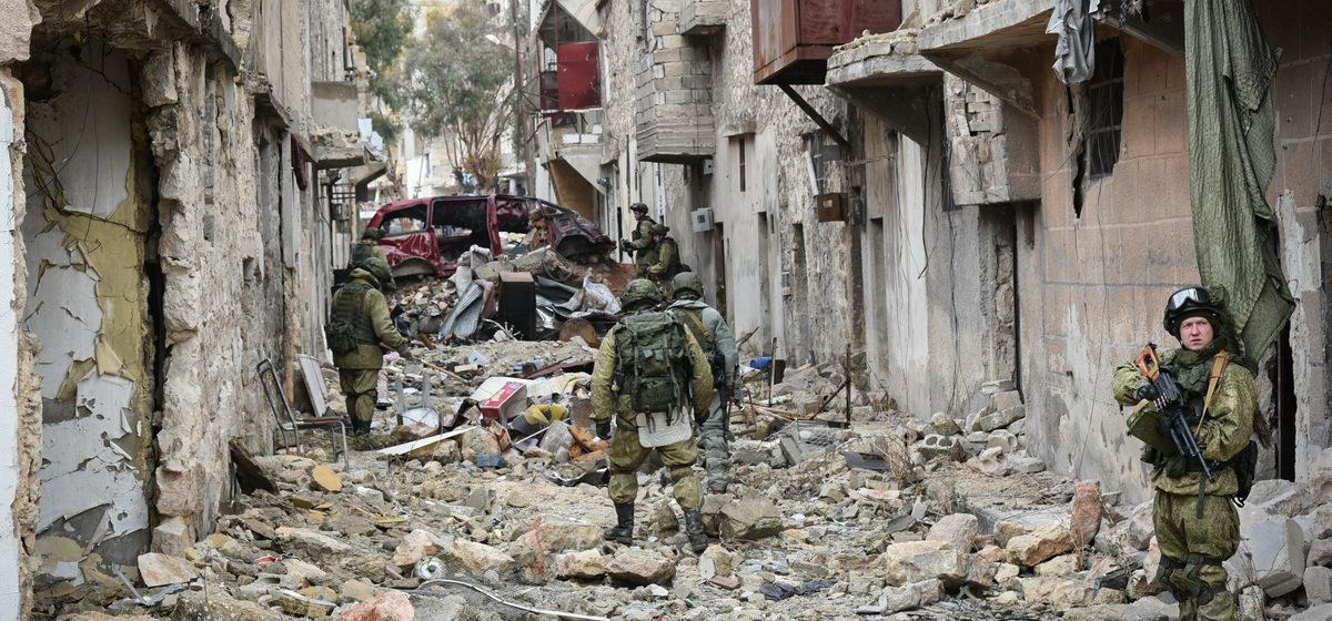 СБУ: В Сирии 11 белорусов воевали в составе ЧВК «Вагнер»