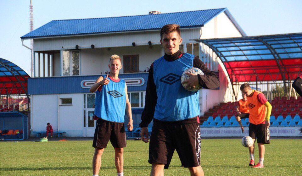 ФК «Барановичи» подписал контракты с атакующим полузащитником и нападающим