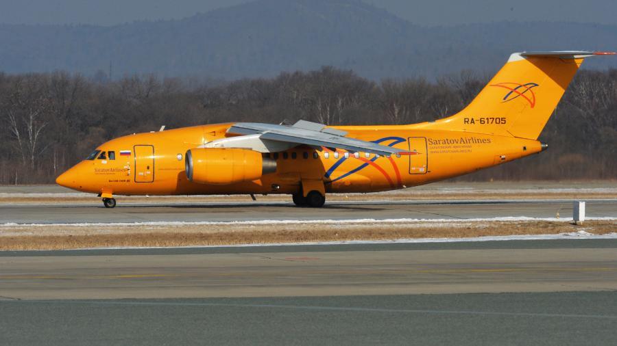 Крушение самолета Ан-148 попало на камеры видеонаблюдения