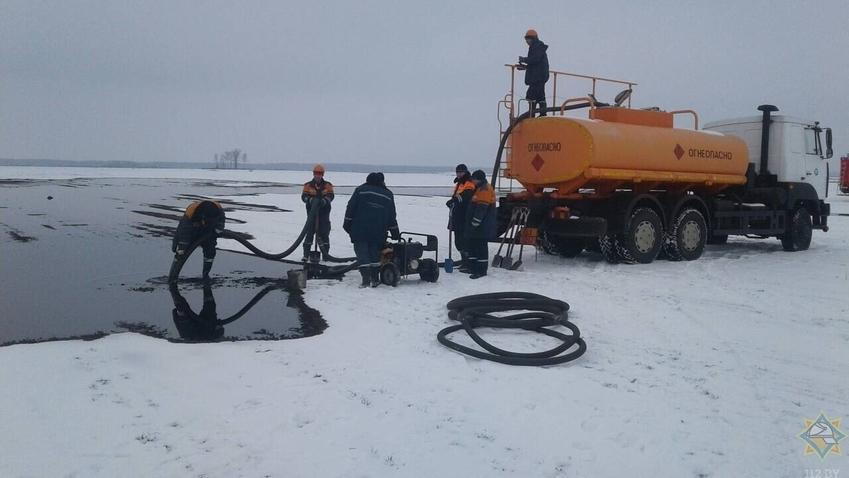 В Брестской области прорвало нефтепровод «Дружба»