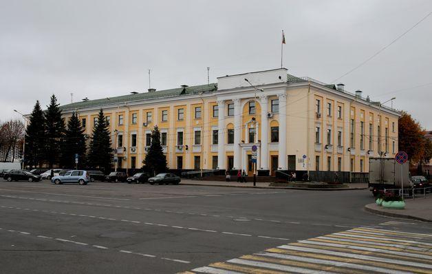 Барановичский горисполком. Фото: Intex-press