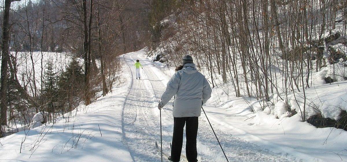 Команда Барановичского отделения железной дороги заняла 3-е место в первенстве по лыжным гонкам