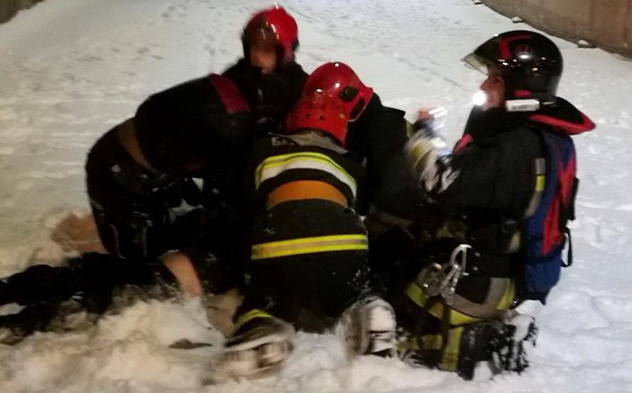 На Свислочи в Минске под лед провалился мужчина, спасти его не удалось