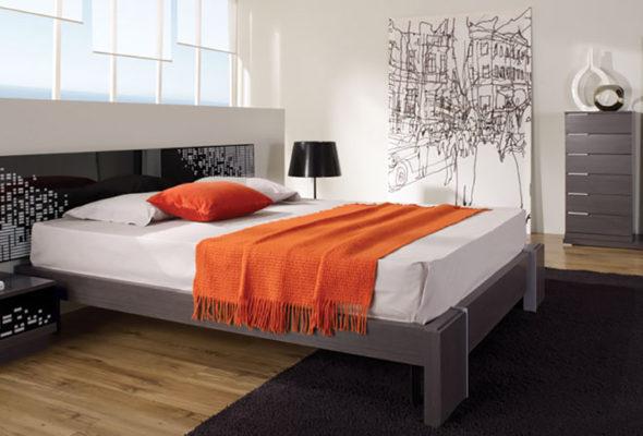 Уютная и комфортная кровать