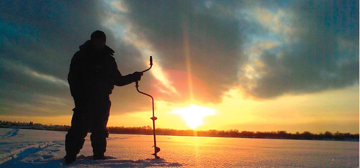 Водохранилище Миничи приглашает на зимнюю рыбалку и уху!*