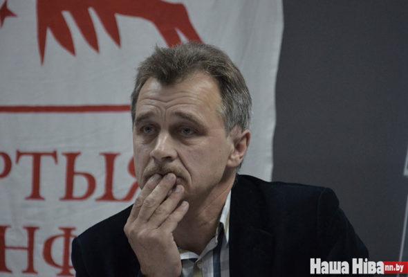Задержан и помещен в изолятор один из лидеров белорусской оппозиции Анатолий Лебедько