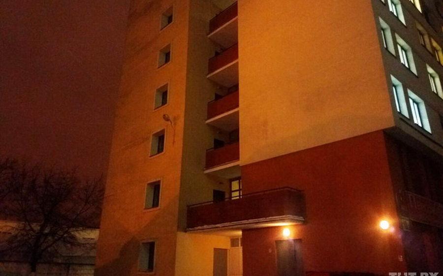 Парень, который выпал с балкона общежития БГУ, был жителем Барановичского района