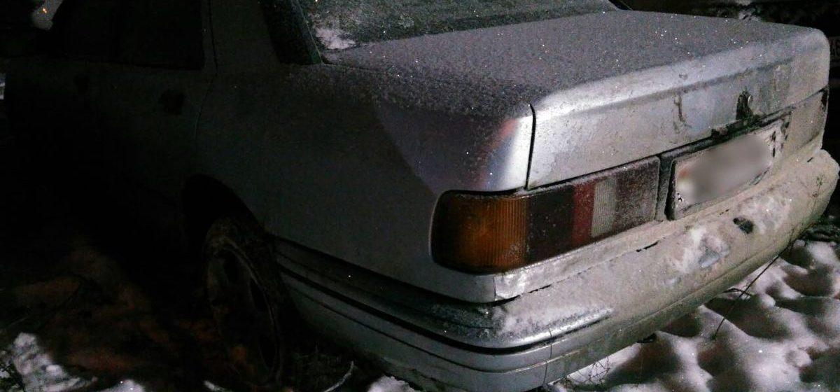 В Пинском районе пьяного водителя остановили с помощью выстрелов
