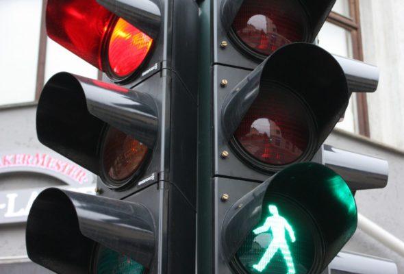 В центре Барановичей скорректируют работу светофоров