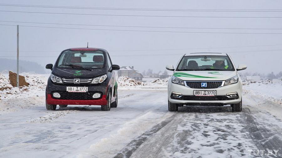 Фотофакт. Какие электромобили будут собирать в Беларуси