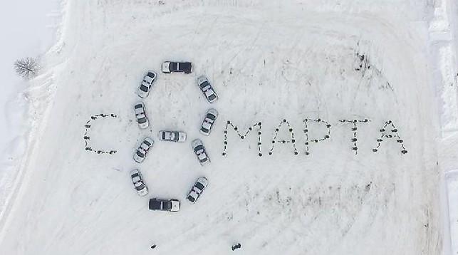ГАИ Витебска сняла креативный ролик к 8 Марта, который за сутки посмотрели 200 тысяч раз