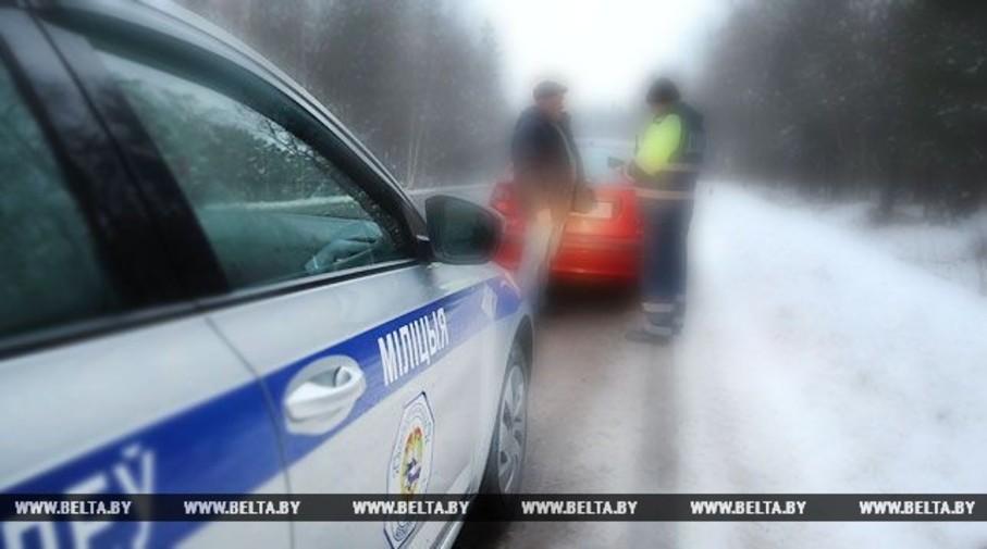 В Ляховичах пьяный водитель с пассажирами в салоне пытался скрыться от сотрудников ГАИ