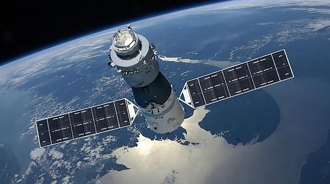 Китайская станция «Тяньгун-1» в неконтролируемом падении рухнет на Землю