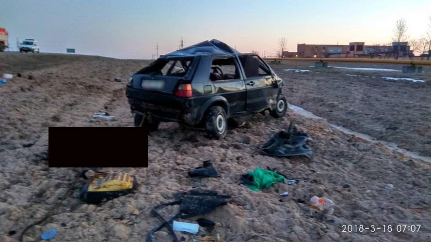 Под Солигорском Mercedes врезался в Volkswagen – два человека погибли, два в больнице (фото не для слабонервных)