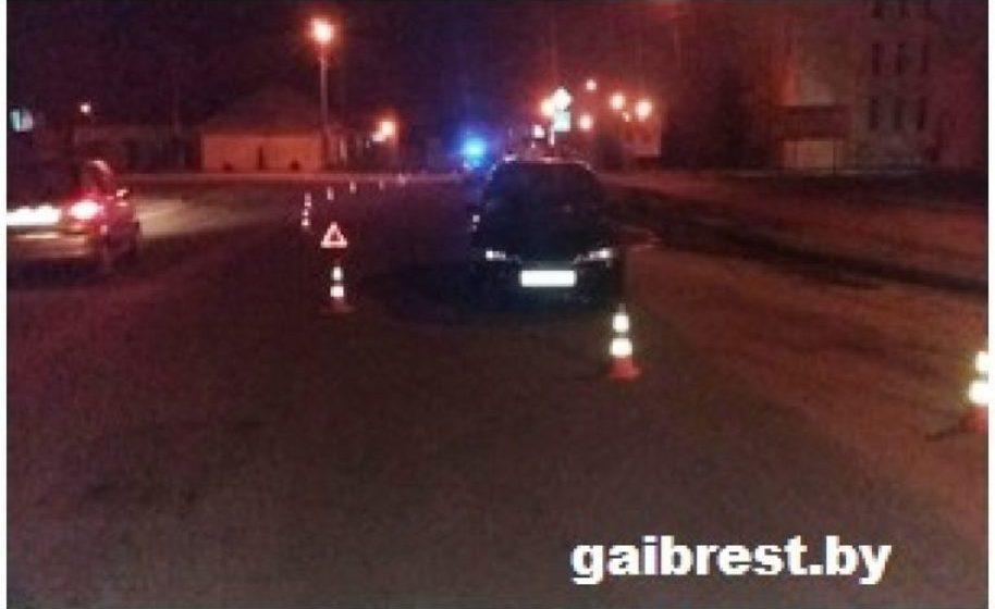 В Барановичах на пешеходном переходе сбили 42-летнюю женщину