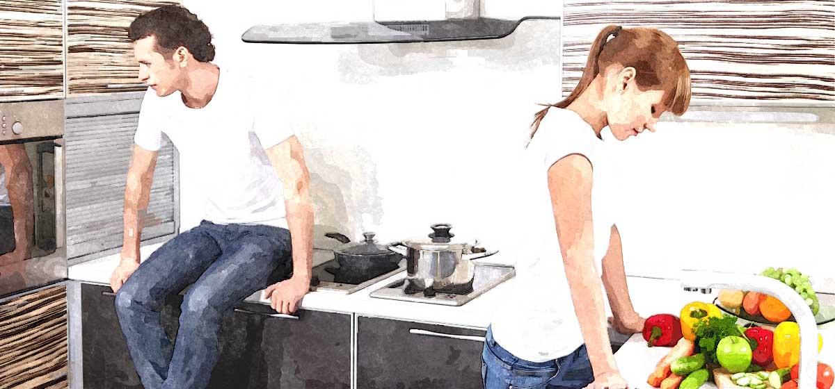 Отношения. Как ужиться с бывшим мужем под одной крышей