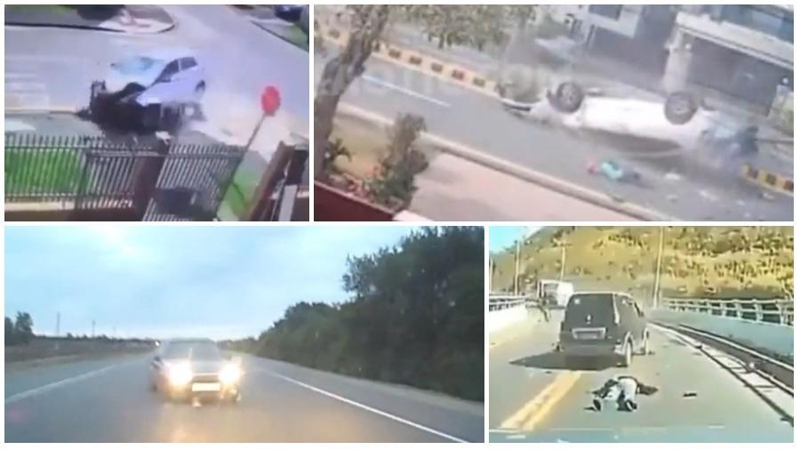 ТОП-5 ужасных аварий за неделю: заснул на секунду – умерли три человека, автобус против грузовика, смерть на перекрестке (видео 18+)