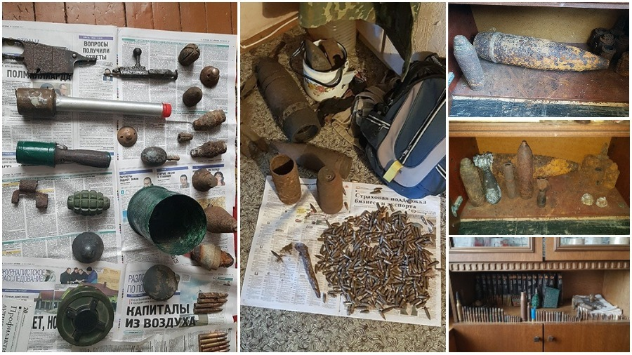 В Барановичах осудили копателя, который хранил боеприпасы в квартире многоэтажки